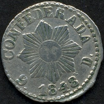 Guardia Imp. Cordoba 1 Real Año 1848 Plata