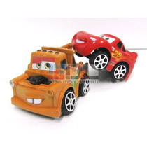 Autos Cars Disney Pixar X4 Rayo Mate Sally Luigi A Fricción