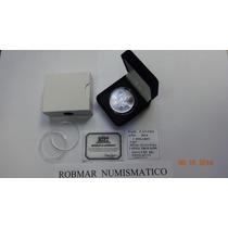 Robmar-usa-canada 1 Onza De Plata,varios Años Y Con Estuche