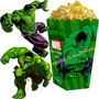 Kit Imprimible Increible Hulk Candy Bar Invitaciones 2x1