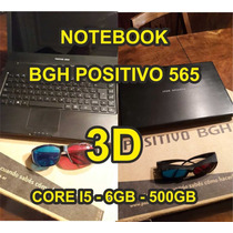 Notebook Bgh Positivo C-565 3d / Core I5 / 6gb - Hd 500 - W8