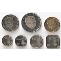Aruba, Serie Completa 2014-2015, 7 Monedas, Brillante Unc