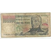 Argentina 100000 Pesos Ley Reposicion B 2506
