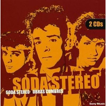 Cd Soda Stereo Obras Cumbres 2 Cds Open Music