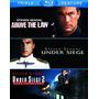 Blu-ray Under Siege Alerta Maxima 1 & 2 + Nico Above The Law