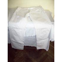 Pantalon Recto De Jean Blanco-ona Saez-talle 38