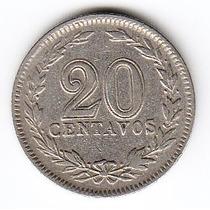 Argentina, 1926 - Moneda De 20 Centavos - Cj#76