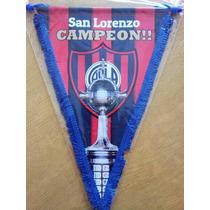 San Lorenzo- Banderin Campeon Libertadores 2014