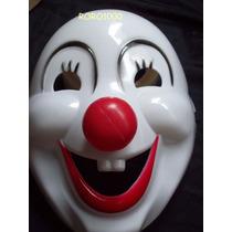 Halloween Mascara Payaso Con Nariz En 3d