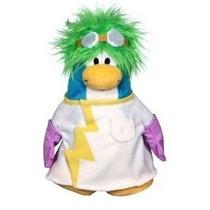 Peluche Club Penguin - Científico - Sin Moneda