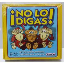 No Lo Digas - Juego De Mesa Original Toyco