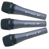 Pack X 3 Sennheiser E835 Microfono Profesional Vocal Aleman