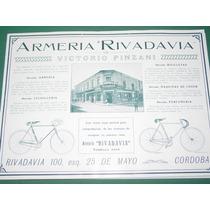 Cordoba Clipping Armeria Rivadavia Victorio Pinzani Biciclet