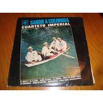Cuarteto Imperial - Sabor A Colombia- Vinilo