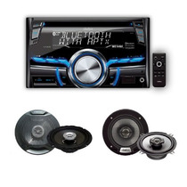 Combo Stereo Clarion Cx305 + 4 Parlantes Clarion 6,5 Y 5,25