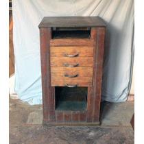 Pequeño Antiguo Mueble Tapa Hierro Envío Gratis Caba