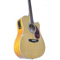 Guitarra Electro Acustica C/ Corte Muy Comoda ,video,funda