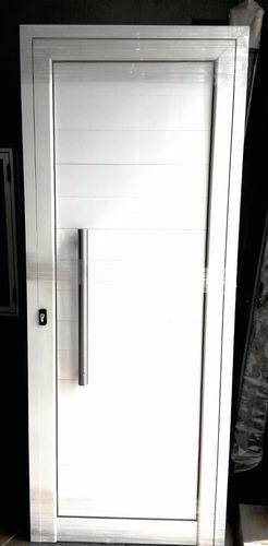Abertura puerta modena ciega 80x200 barral hermetica for Precio de puertas reforzadas