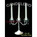 Porta Vela, Candelabro Con Cairel *candelero*