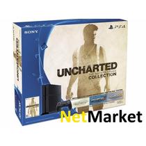 Playstation 4 Ps4 500gb Hdmi + Dualshock + 3 Juegos Nuevas!!
