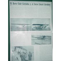Cordoba Clipp 3pgs Aeroclub Cordoba Aero Lloyd Cordoba Fotos