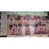 Mini Poster De Juventud Alianza De San Juan