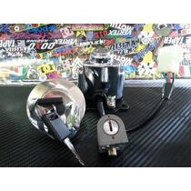 Kit Cerradura Jawa 350 -9 Llave+tapa Tanque+ Traba Volante
