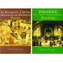 Platón Lote X 2 Libros Ion Timeo Gorgias Critias Banquete