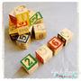 Cubos De Madera Con Números, Letras, Dibujos/ Matemáticas