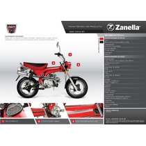 Tablero Zanella Hot 90cc En Franco Motos En Moreno