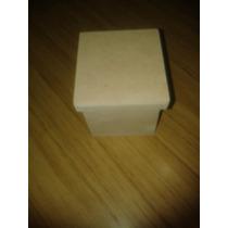 Cajitas De 7x7x7 Con Tapa De Fibrofacil X 10 Unidades