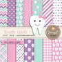 Kit Imprimible Tooth Girl 14 Fondos 13 Clipart *promo*