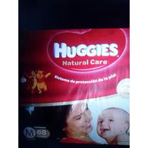 Huggies Natural Care Mediano X68