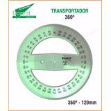 Transportador 360º Dibujo Técnico Reglas Dozent By Plantec