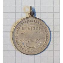 Medalla Sociedad Union Protectora Del Trabajador Libre