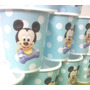 Vasos Mickey Bebe, Plasticos Descartables!!!