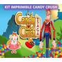 Kit Imprimible Candy Crush