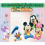 Kit Imprimible Disney Bebes