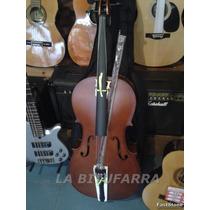 Cello Violoncello 4/4 Stradella. Funda Acolchada-arco-resina