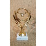 Trofeo Plástico Automovilismo Karting Volante - Souvenir