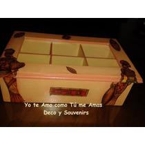 Cajas Para Té Decoración En Decoupage