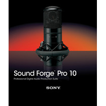 Sony Foundry Sound Forge Pro 10 (español) (oferta Envio)