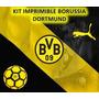 Kit Imprimible Borussia Dortmund