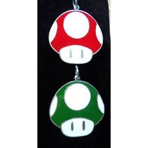 Colgante O Llavero Hongo Mario Bros