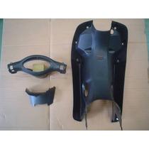 Kit Cubre Piernas Corven Energy 110cc Negro - 2r