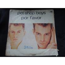 Long Play Disco Vinilo Pet Shop Boys Por Favor