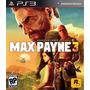 Max Payne 3 Ps3 Tienda Virtual
