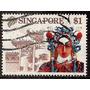Singapur Máscara 1v.usado Año 1990