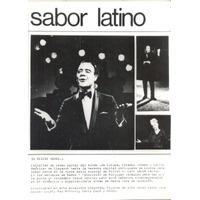 Sabor Latino- Foto Original De Serie Musical Tv Años 60.-