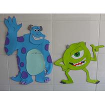 Monsters-inc Mike/sully Goma Eva 1 Metro De Alto Decoración